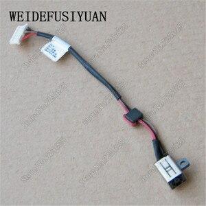 10 шт./лот, кабель для ноутбука с разъемом питания постоянного тока для Dell Inspiron 17 5000 5758 5759 5755 DC30100TT00