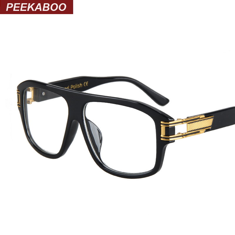 Glasses Frames Luxury : Peekaboo New clear ? black black rectangular glasses ...