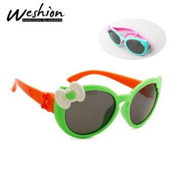 Bow Kids Sunglasses Children Polarized G...