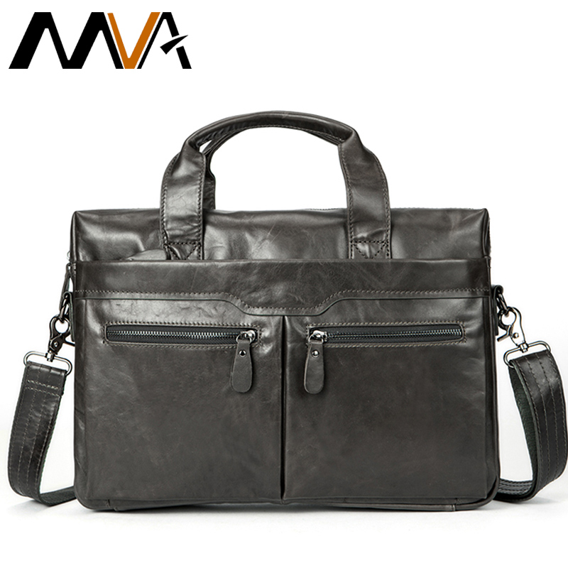 MVA Genuine Leather men