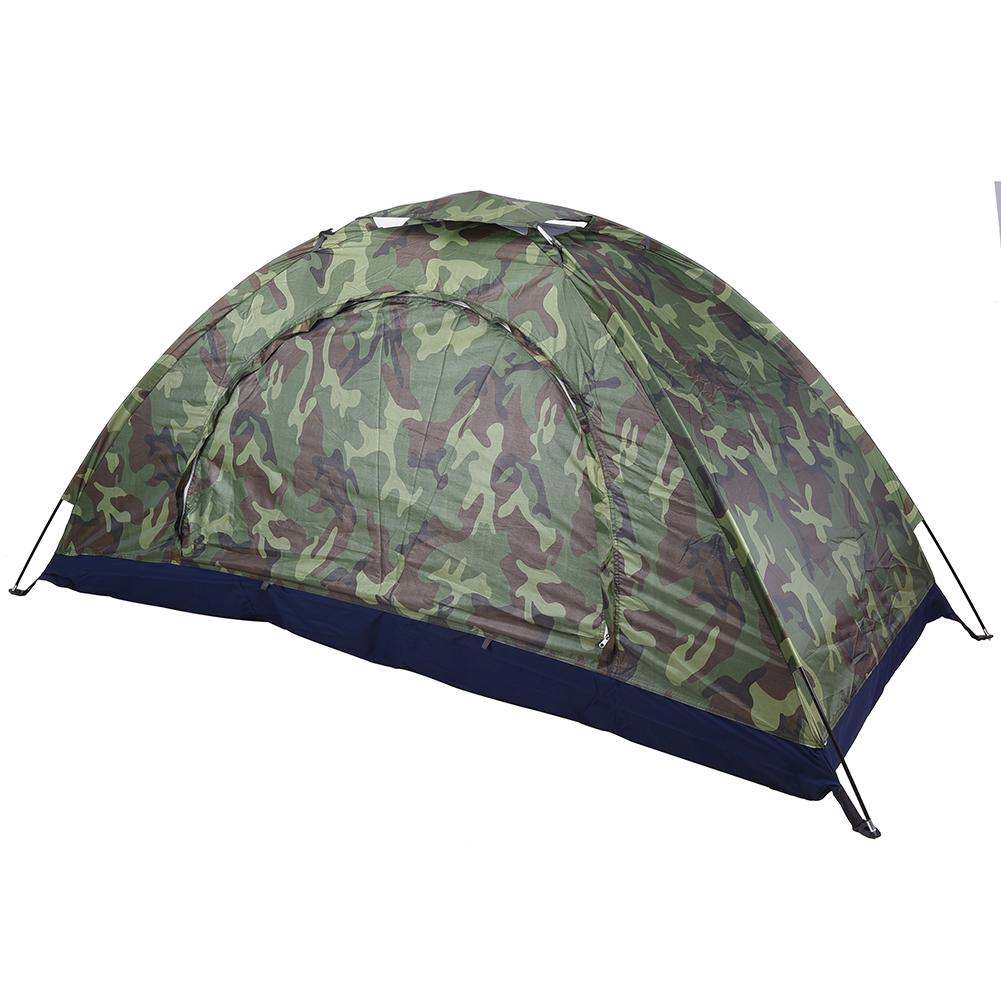 Waterproof Oxford Cloth Single layer Single layer Camouflage Tent Outdoor Camping Portable High Quality For Outdoors