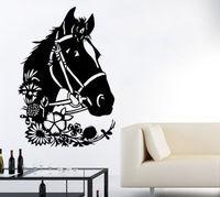 Horse Wall Decals Animal Vinyl Decal Sticker Home Interior Design Art Mural