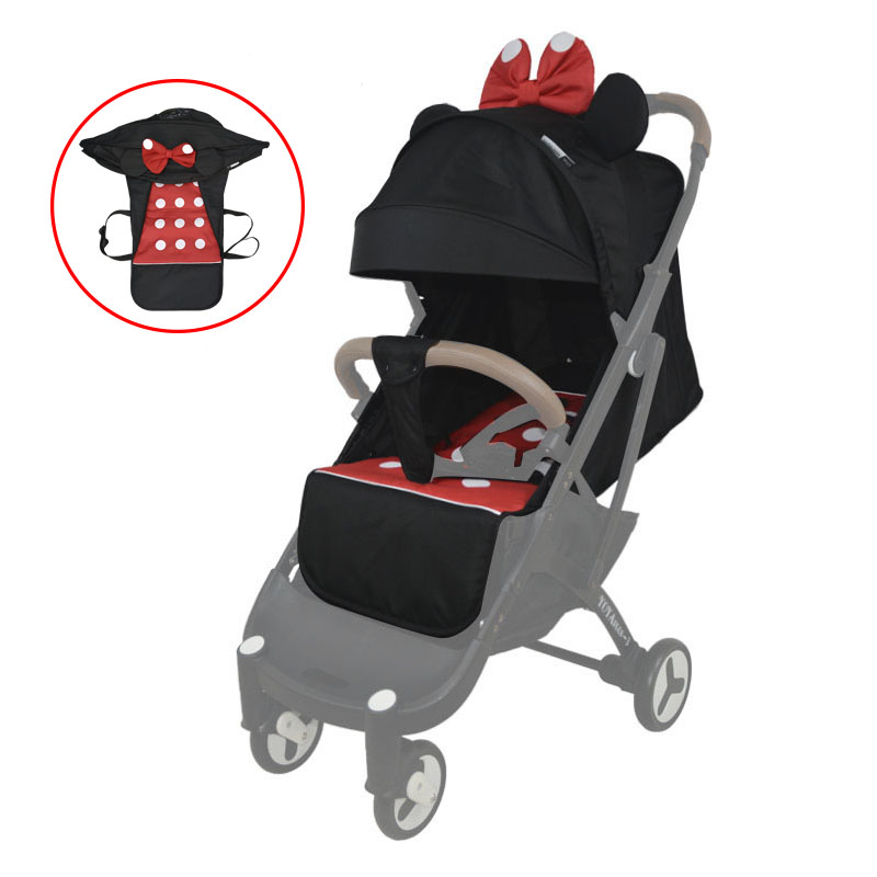 Yoya plus 2 3 4 baby stroller seat cushion and awning cover Original cart accessories Applicable