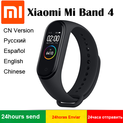 2019 Original Xiaomi Mi Band 4 Smart Band Bluetooth 5.0 0.95inch AMOLED Screen Heart Rate Fitness Waterproof 135mAh Battery Yamaha XSR900