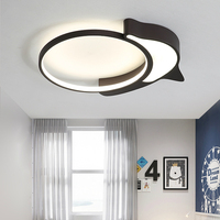 Modern simplicity luminaire snails/dolphin remote control LED Ceiling lights kids bedroom lights dining room fixtures