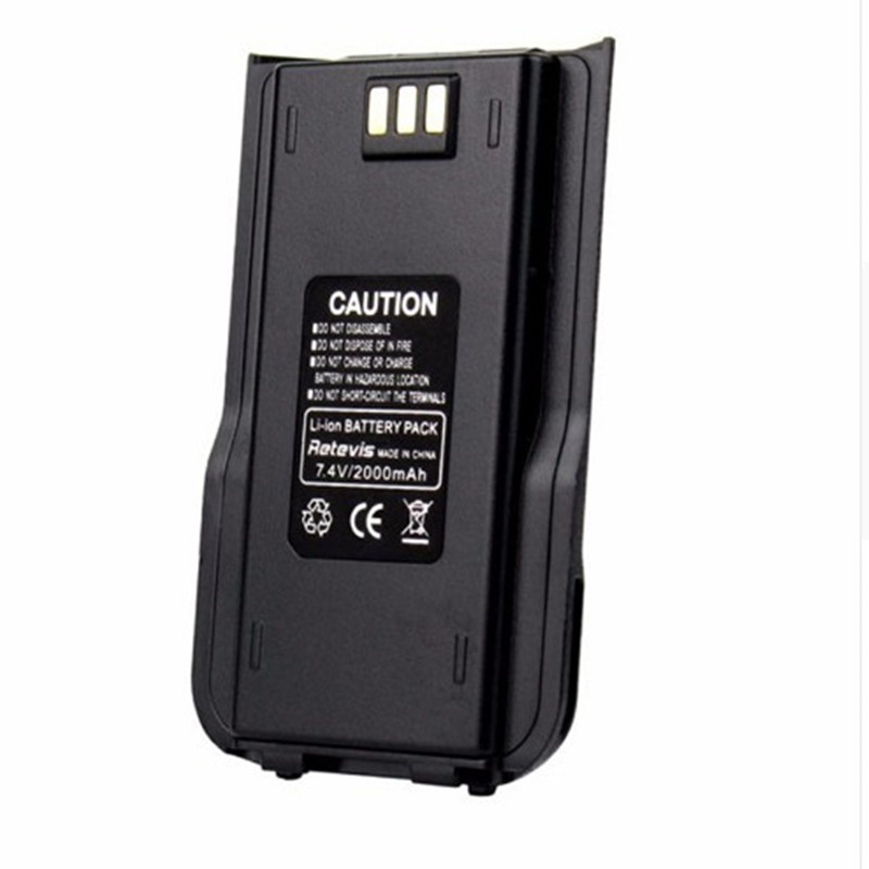 100% Original TYT MD-380 TWO WAY RADIO DMR Li-ion Battery Pack Digital Tytera MD380 Walkie Talkie 7.2V 2000mAh Transceiver