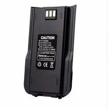 100% 원래 TYT MD 380 양방향 라디오 DMR 리튬 이온 배터리 팩 디지털 Tytera MD380 워키 토키 7.2V 2000mAh 송수신기