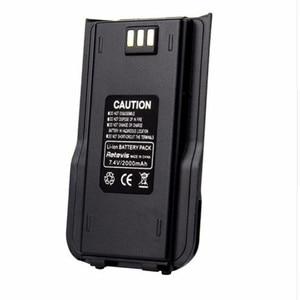 Image 1 - 100% Оригинальный TYT MD 380 двухсторонняя радиостанция DMR, литий ионный аккумулятор, цифровой Tytera MD380 Walkie Talkie 7,2 V 2000mAh Transceiver