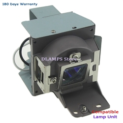 5J. J5205.001 لمبة جهاز عرض عالي الجودة مع قفص متوافق مع Benq MS500 MX501 MX501-V MS500 + MS500-V TX501 MS500P