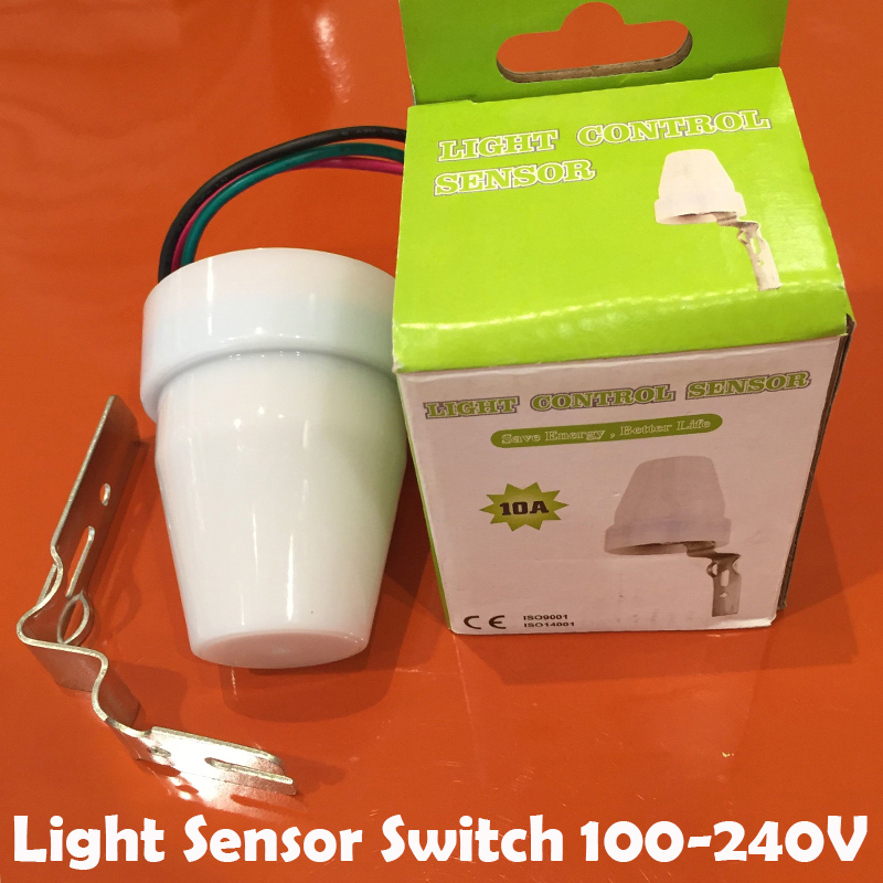 Newest LED Light Sensor Switch,Outdoor Light Control Switch,Automatic ON  And OFF,