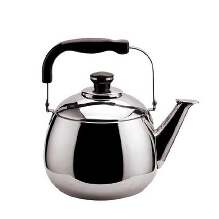 New <font><b>4L</b></font> tea <font><b>kettle</b></font> stainless steel whistle teapot metal tea pot cooker camping whistling <font><b>kettle</b></font> water teakettle thermos canteen image