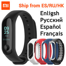 "Xiaomi Mi Band 3 Smart Bracelet Miband 3 OLED Touch Screen 0.78"" Message Display Weather Forecast Fitness Tracker Xiaomi Band 3(China)"