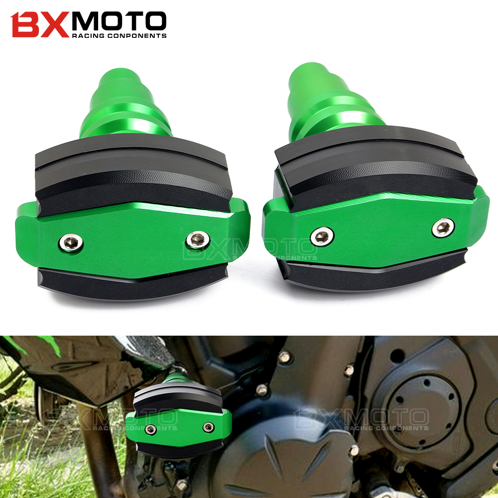 CNC Frame Sliders Crash Pad Cover Falling Protector Guard For KAWASAKI Z650 2017 engine protection Sliders cover motorcycles