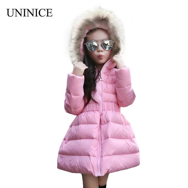Online Shop 2017 New Children Winter Jackets Girls Winter Coats ...