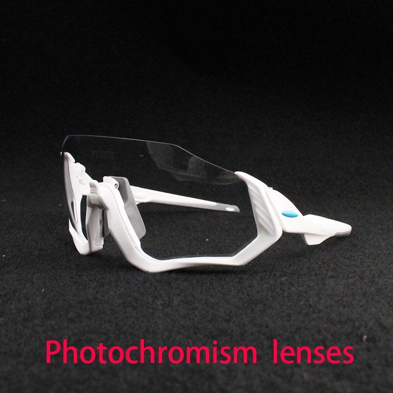 2018 Tour de France Photochromic Sunglasses Auto Lens TR90 Sports Cycling Discoloration Glasses Men Women MTB Road Bike Bicycle