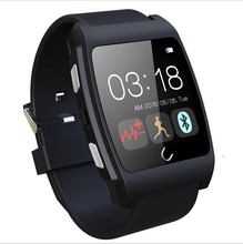 Uwatch UX del ritmo cardíaco monitorring reloj inteligente soporte NFC GEP silicio correa smartwatch 3D Magsensor bluetooth deporte reloj android