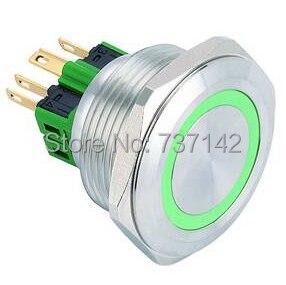 ELEWIND 30mm Ring beleuchtet anti vandalismus druckschalter (PM301F-11E/G/12 V/S)