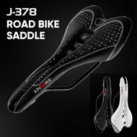MTB Mountain Bike Bicycle Cycling Saddle Seat Microfiber Cover Cushion Seat Light PU Black Bicycle Saddle