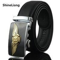 2015 Men S Cowhide Leather Belt Super Star Letter B Buckle Belts Men