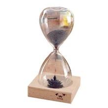 Decoración de Escritorio de Limaduras de Hierro presente reloj de arena reloj de Arena Temporizador magnética