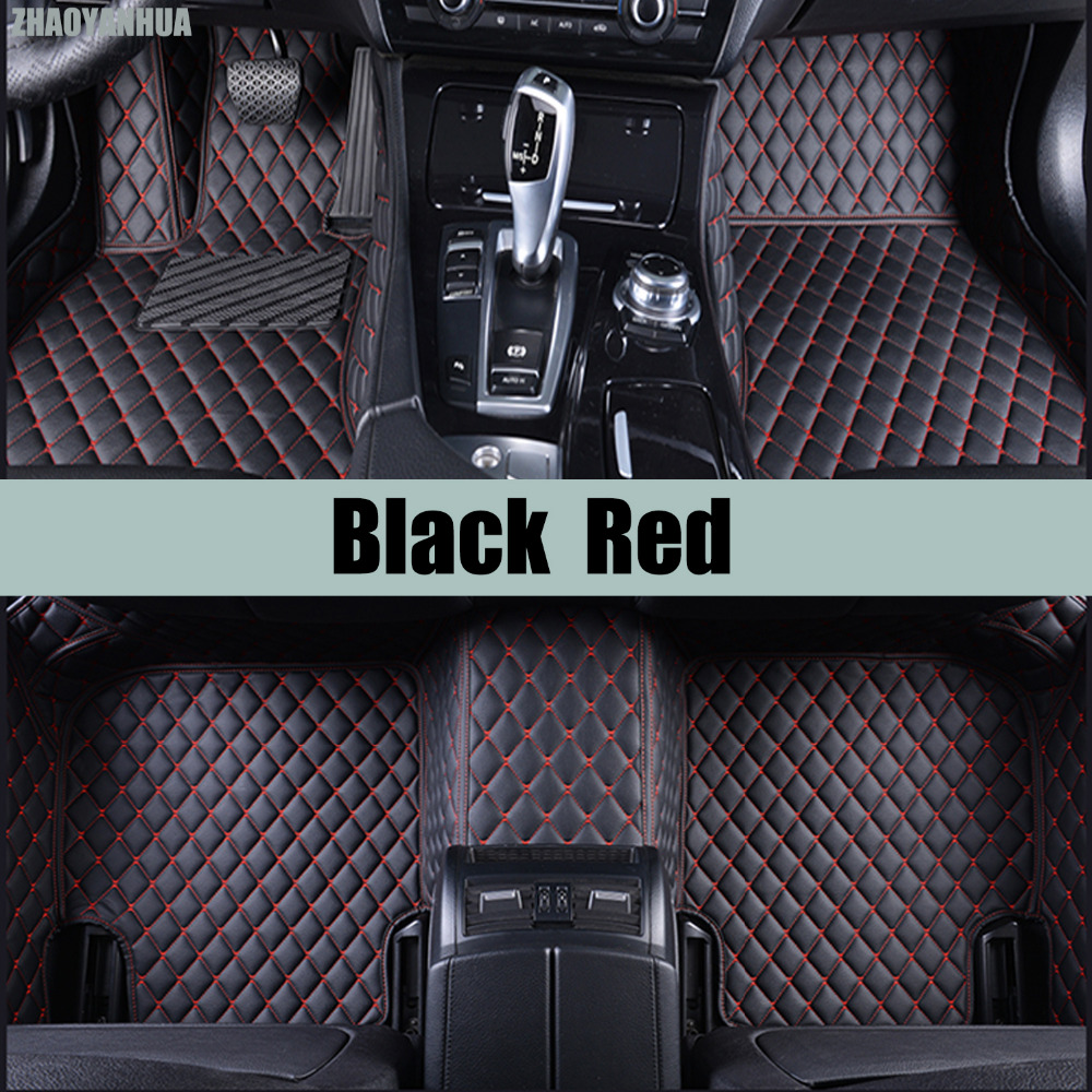 ZHAOYANHUA Car floor mats for Toyota Sienna XL30 XL20 7/8 seats MPV 5D heavy duty car-styling carpet floor liners(2004-now) special car trunk mats for toyota all models corolla camry rav4 auris prius yalis avensis 2014 accessories car styling auto