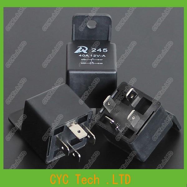 5pcs 12v 40a 4pin Car  Automotive Relay High Power Modified