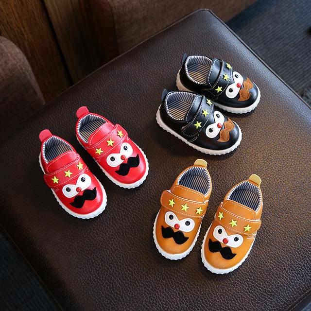Novos meninos meninas crianças loafer shoes respirável sneakers para crianças apartamentos de couro macio com running shoes da criança little big kid
