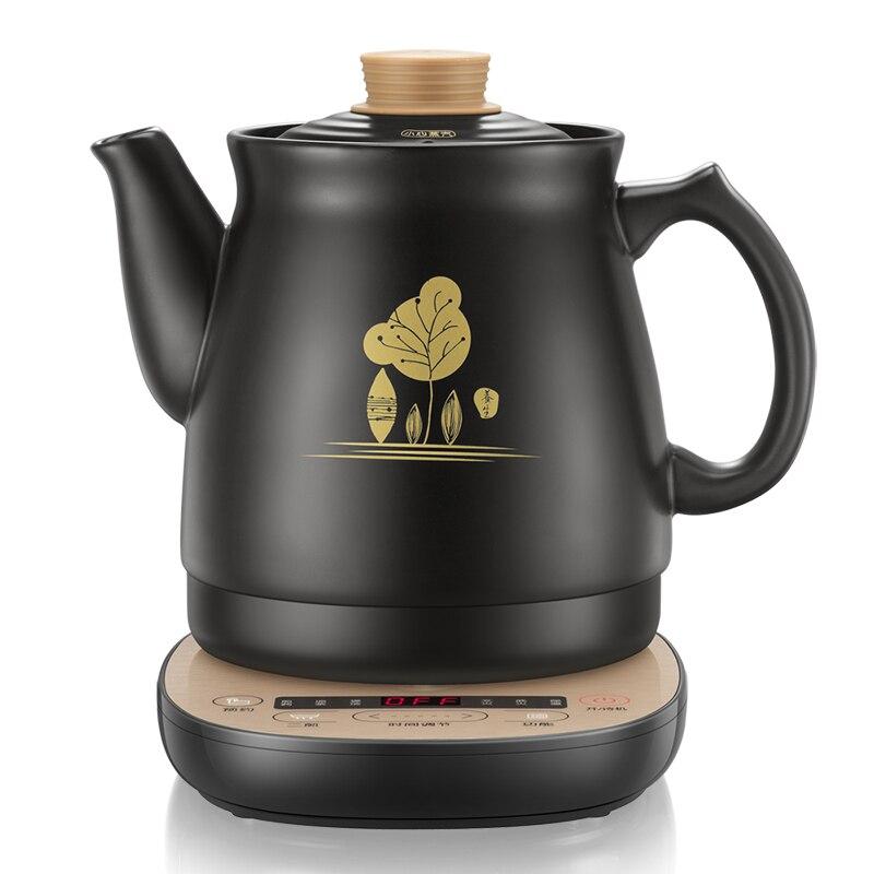 Медведь Керамический электрический чайник традиционной китайской медицины чайники тушить суп