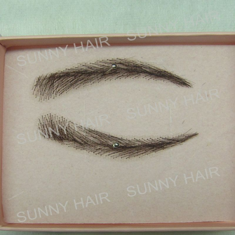 0115 hand made human hairr hand knot fake eyebrow black 1B managing projects made simple