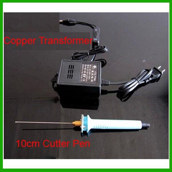 Free shipping Foam electric font b knife b font hot cutter 10cm Hot font b Knife