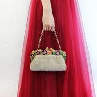 Custom Dinner Bag hand bag bag Korean diamond 2018 new all match evening dress party bride Handbag Bag