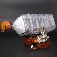 Lepin 16045 Genuine Creative Series The Ship In The Bottle Set Building Blocks Bricks Boy Toy