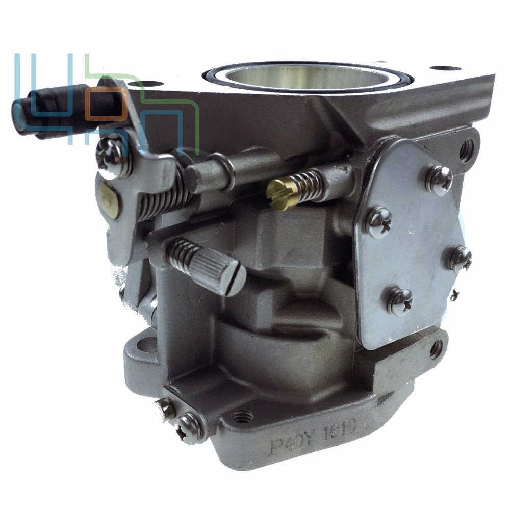 Новый карбюратор в сборе для YAMAHA 2-тактный мощностью 40 л. с. увеличение 40x E40X 40XMH 66Т-14301-02