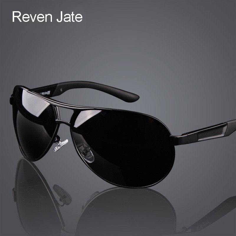 Hot Fashion Mænds UV400 Polarized Coating Solbriller mænd Drivspegler Oculos Eyewear Sun Briller til Man Sunwear