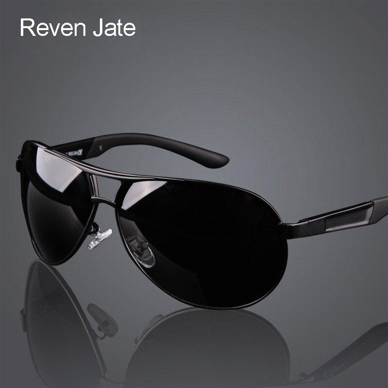 Los hombres de moda caliente UV400 gafas de sol polarizadas revestimiento espejos de conducción gafas oculos gafas de sol para hombre ropa de sol