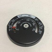 Дровяная печь высокотемпературный камин контроллер дымоход механик термометр безопасный дымовой температуры