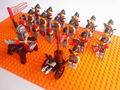 20 шт. Hawk Рыцарь фигура совместимы Building Block куклу, Замок Рыцарей Кирпич аксессуар WOMA Sluban цифры