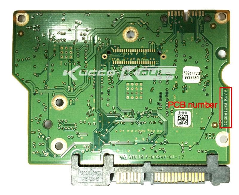 hard drive parts PCB logic board printed circuit board 100591286 for Seagate 3.5 SATA hdd data recovery hard drive repair