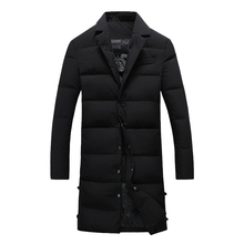 Brand Winter Cotton Padded Jacket Men Windproof Parka Man Thick Quilted Puls Size M-5XL Coat Men