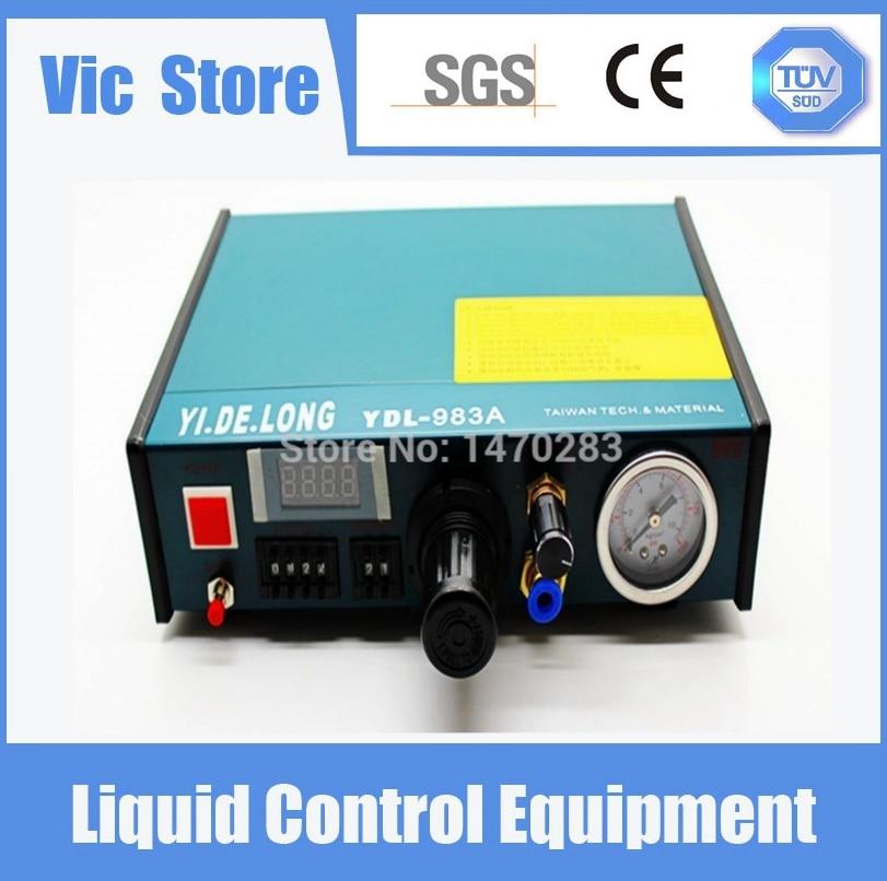 YDL-983A Профессиональный точная цифровая Авто Клей Диспенсер паяльной пасты Жидкость контроллер Dropper 220 В Бесплатная доставка