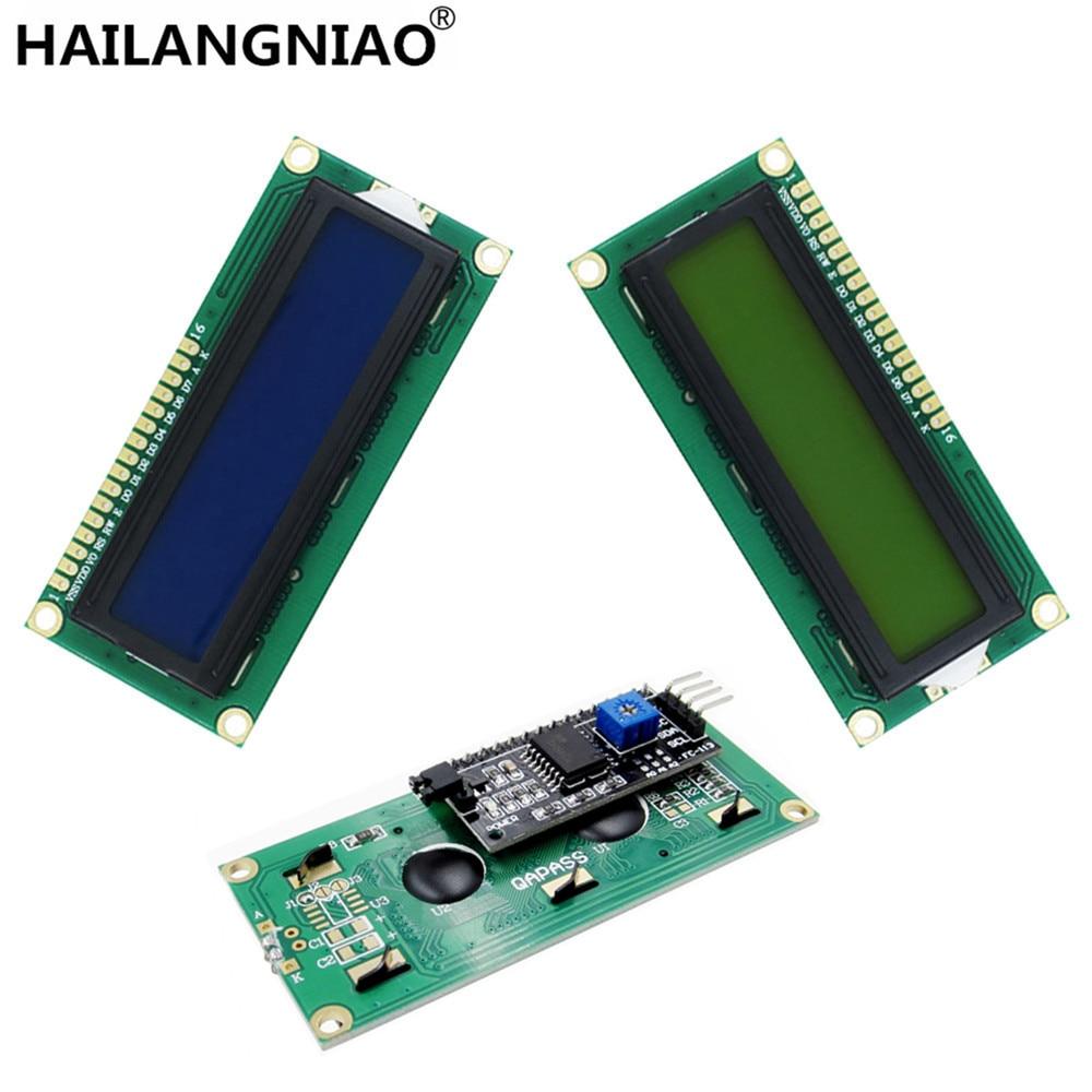 1PCS LCD Module Blue Screen IIC/I2C 1602 For 1602 LCD UNO R3 Mega2560 Green Screen