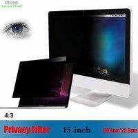 15 дюймов Фильтр конфиденциальности Антибликовая Защитная пленка на экран с высоким разрешением, SZEGYCHX для Тетрадь 4:3 ноутбук 30,4 см * 22,9 см