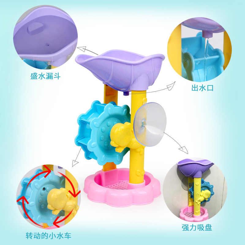 Casa de banho chuveiro interativo água praia brinquedo natação brinquedos de água infantil jogo educativo para crianças brinquedos de banho do bebê