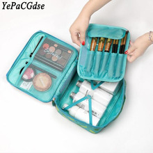 Creative new travel large capacity waterproof toiletries storage bag portable wash organizer