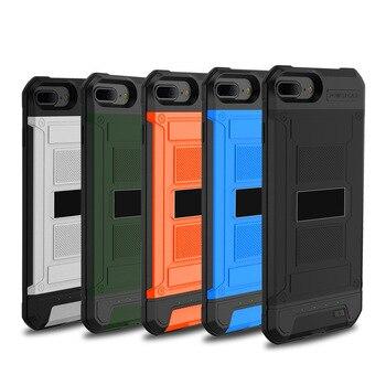 Iphone Plus 6 Fundas | Funda Externa Ultra Delgada 3000mAh Armor Power Bank De Respaldo Para IPhone 8 7 6 6S