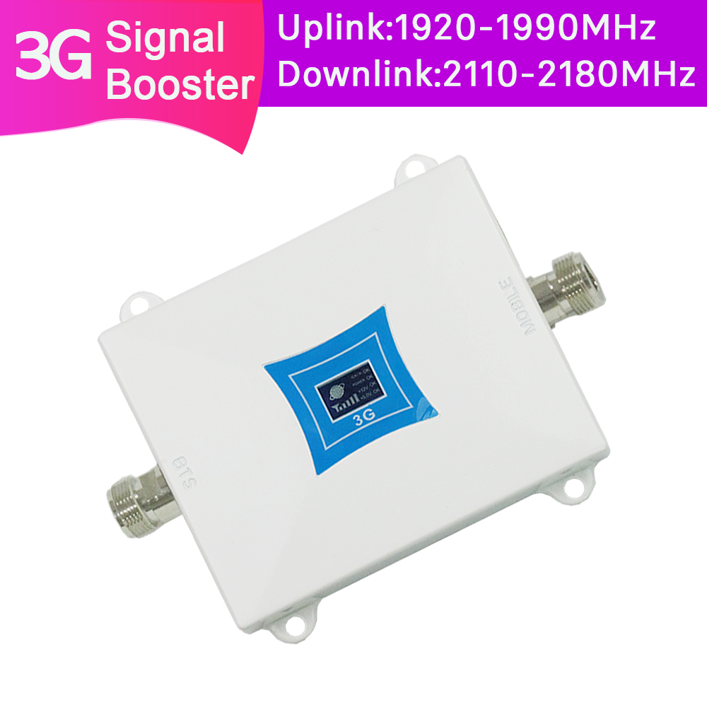 ZQTMAX 3G Repeater 2100 UMTS Network Booster 2100MHz  Band 1 Cellular Signal Amplifier