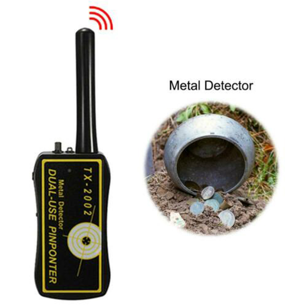 High Sensitivity Adjustable Handheld Metal Detector Long Range Diamond Archeological Underground Tracker For Treasure Search