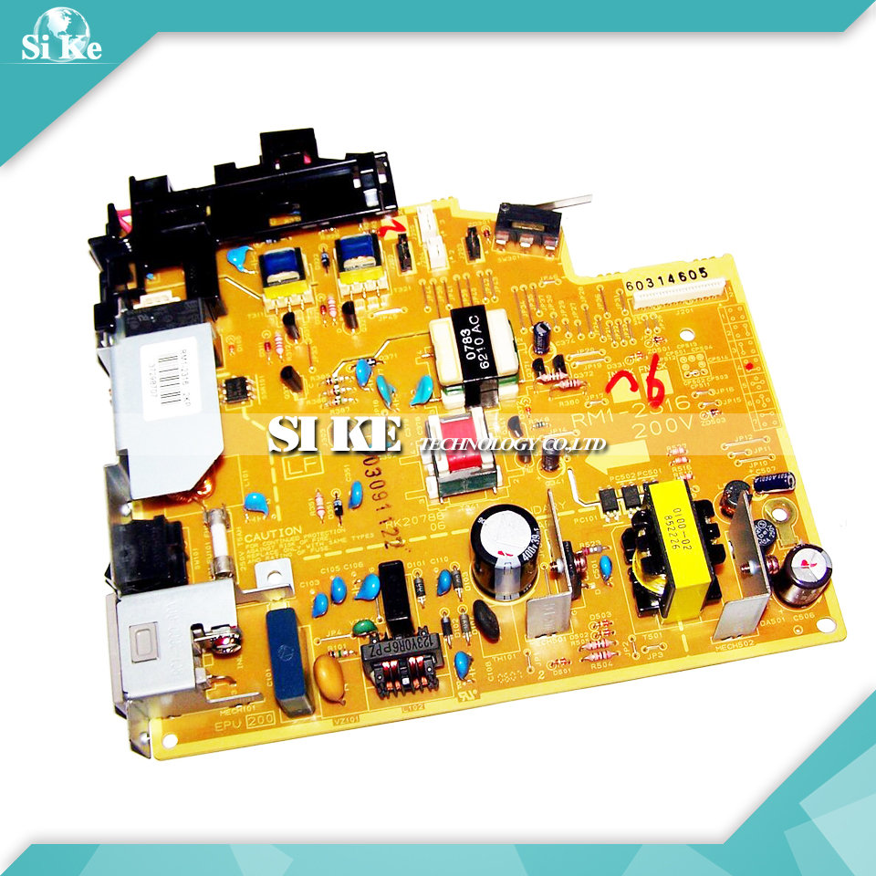 LaserJet Engine Control Power Board For Canon LBP2900 LBP3000 LBP2900+ LBP 2900 3000 2900+ Voltage Power Supply Board laserjet engine control power board for canon mf8030cn mf8050cn 8030 8050 8030cn 8050cn voltage power supply board