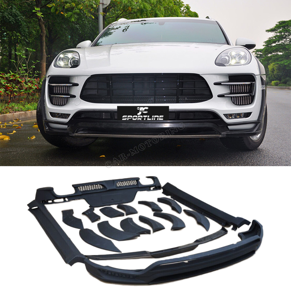 Car PU car styling body kits for Porsche Macan 2014-2016