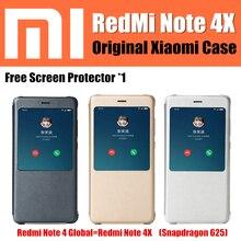 Xiaomi Redmi Note 4 X чехол оригинальный от Xiaomi компании магнит умный откидная крышка кожаный чехол Redmi Note 4 Snapdragon 625 версия